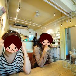 Amy's travel gallery... | Taipei | 蘑菇 BoodayにてCafé time.. | ガールズtalk弾むな~♪