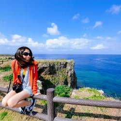 Amy's travel gallery... | Okinawa | 万座毛 |